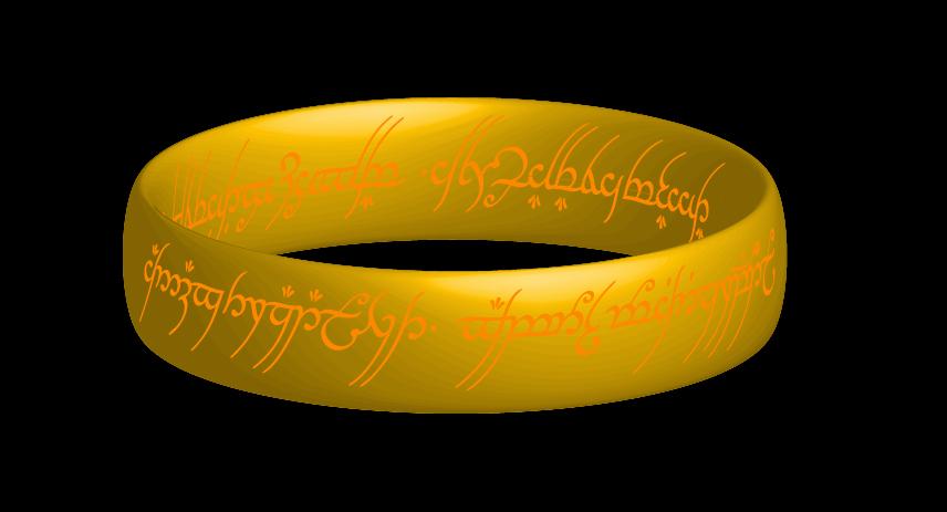 Le seigneur des anneaux sous Illustrator CS6-3