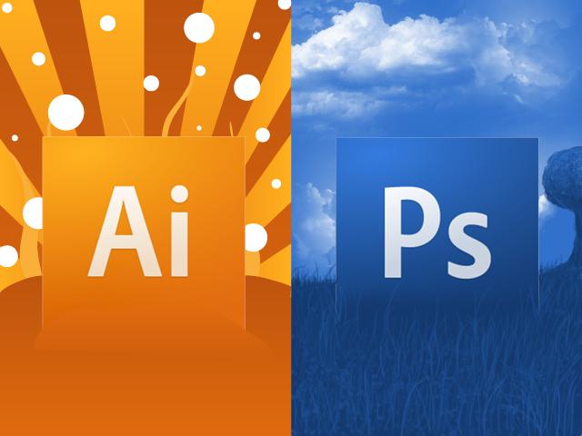 Différence entre illustrator et photoshop
